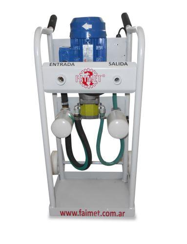 Filtracion de aceite hidraulico